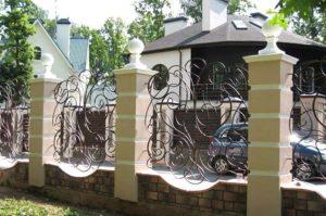 Красивая ограда