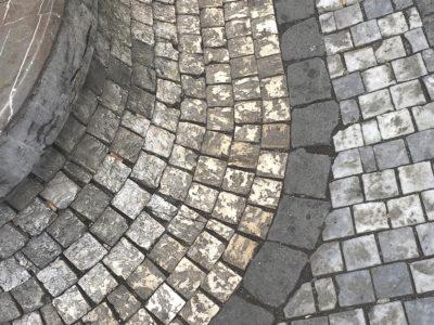 Брусчатка, тротуарная плитка, Прага 03