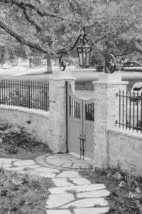 Ограда, столбы, колонны, крышка колонны, ворота